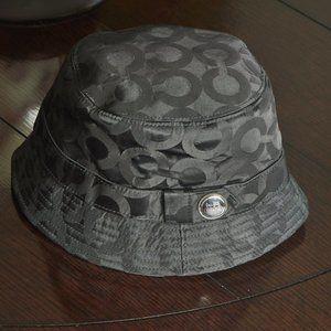 COACH Signature Print Bucket Hat